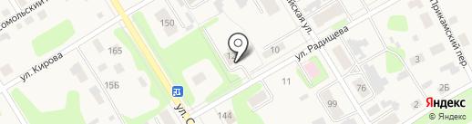 Пожарная часть №74 на карте Усолья