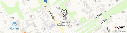 Прокуратура Усольского района на карте Усолья