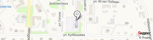 Дом детского творчества на карте Усолья