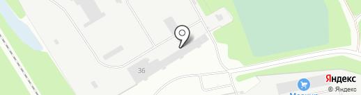 Тодос-М на карте Березников
