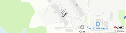 Цех №1 на карте Березников