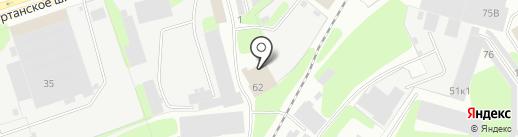 Почтовое отделение №1 на карте Березников