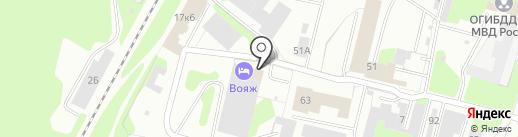 Гостевой дом на карте Березников