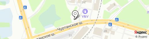 Кафе быстрого питания на карте Березников