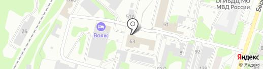 Экспресс-Авто на карте Березников