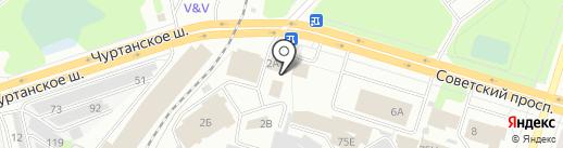 ПермБизнесАвто на карте Березников