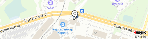 Трактир на Советской на карте Березников
