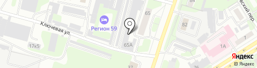 Автостар на карте Березников