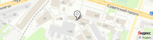 Дельфин на карте Березников