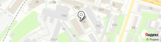 Портал на карте Березников