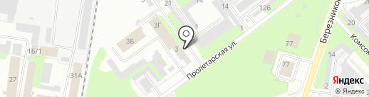 Глория на карте Березников