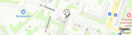ФАВОРИТ АВТО на карте Березников