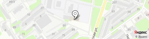 Березниковский региональный центр ДОСААФ России, НОУ ДПО на карте Березников