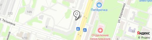 Клёвый на карте Березников
