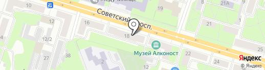 Библиотека №10 на карте Березников