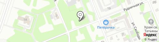 Магазин-пекарня на карте Березников