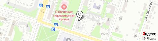 Объединенный комитет Территориального управления г. Березники, МКУ на карте Березников