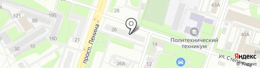 Автоком на карте Березников