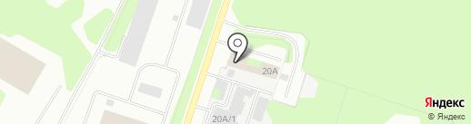 На Березниковской на карте Березников
