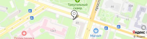 Родник прикамья на карте Березников