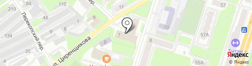Ивкор на карте Березников
