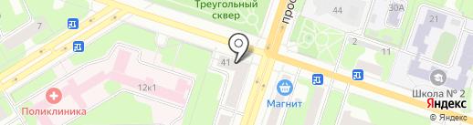 Пермфармация на карте Березников