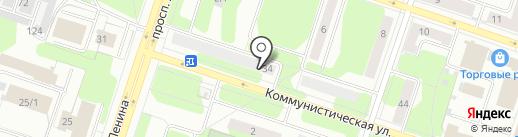 Продуктовый магазин на карте Березников