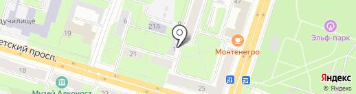 Огонь на карте Березников