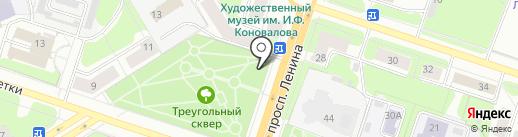 Платный общественный туалет на карте Березников