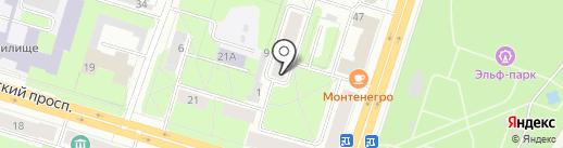 Адвокатский кабинет Шинкаренко С.А. на карте Березников