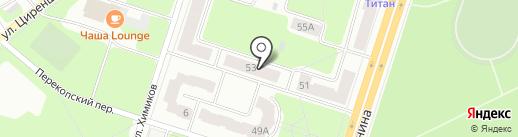 Центр развития туризма на карте Березников