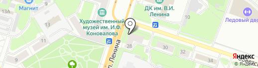 Фото МК на карте Березников