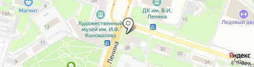 Банкомат, АКБ Урал ФД, ПАО на карте Березников