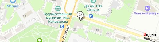 Пупсик на карте Березников