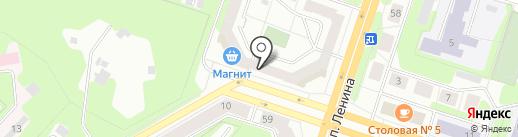Марафет на карте Березников