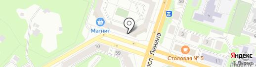 Федеральная кадастровая палата Федеральной службы государственной регистрации, кадастра и картографии на карте Березников
