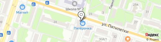 Буфет на карте Березников