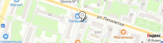 Fashion мода на карте Березников