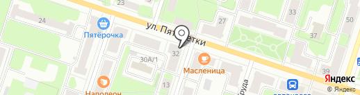 Мяско на карте Березников