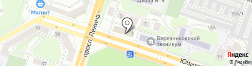 ПрессА на карте Березников