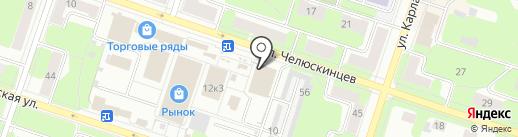 СИТИ на карте Березников