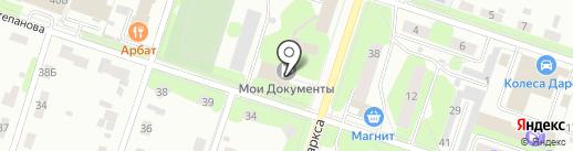 Пермский краевой многофункциональный центр предоставления государственных и муниципальных услуг на карте Березников