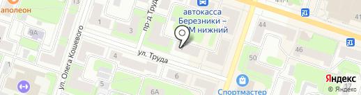 Algiz на карте Березников