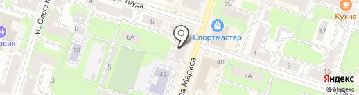 Канцпарад на карте Березников