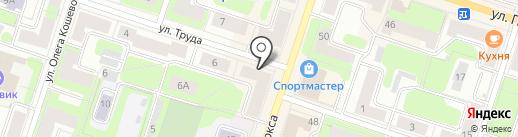 Сеть салонов оптики на карте Березников