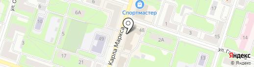 Верона на карте Березников