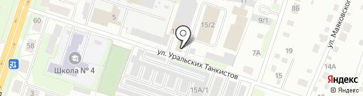 ЖелДорЭкспедиция на карте Березников