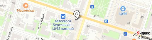 585 GOLD на карте Березников