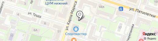 Управление благоустройства администрации г. Березники на карте Березников
