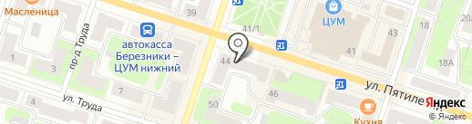АЛЬФА на карте Березников